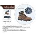 Botas Caterpillar - Cat Generator-6 Steeltoe (marrón)