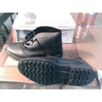 Botas Borcegos Negros Reforzados Nro 41 Para Trabajo Pesado