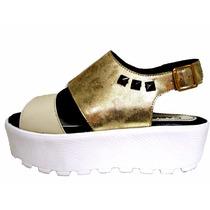 Zapatos Mujer Sandalia Plataforma Base Alta Moda 2016