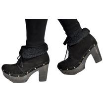 Botas Mujer Botita Piel Zapatos Almacen De Cueros