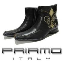 Nuevas Botas Hombre Priamo Italy Ankle Flor Liz [da000668]