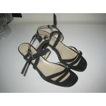 Hermosos Zapatos De Americam Pie Gamuza Cuerot.38