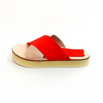 Clippate Zapatos Sandalias Chatitas Ojotas En Cuero Mujer