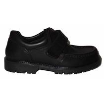Zapatos Colegiales Marcel Canad Varon Cuero Velcro Dreams G