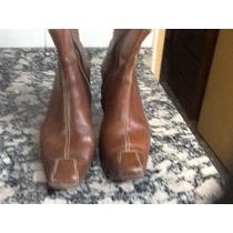 Bota De Cuero 40 Silla Argentino