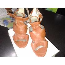 Sandalias De Señora Num38 Marron