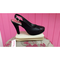 Zapatos/sandalias/stilettos Talón Abierto-2 Modelos-