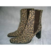 Pigalle Botas Leopardo Italianas