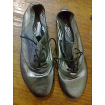 Zapatos Plateados N° 35 Liquido!!!!!
