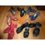 Lote Sandalia Zueco Zapato Lady Stork Menos D $ 90 C/u Feria
