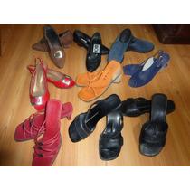 Lote Sandalia Zueco Zapato Lady Stork Ideal Feria Americana