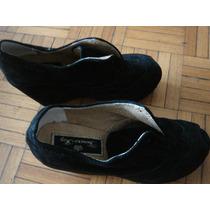 Zapato Taco Chino Con Plataforma