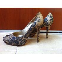Zapatos Estilemos Clásicos Animal Prin Cuero