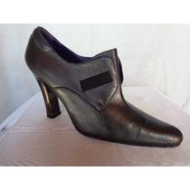Ralph Lauren Zapatos Cuero Color Gris Oscuro Nº 37 O.mar2011