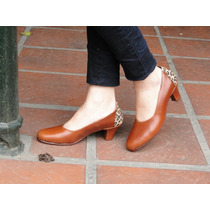 Zapatos Artesanales De Cuero La Mora - Modelo Gabrielle
