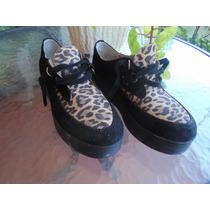 Hermosos Zapatos Animal Print Nazaria