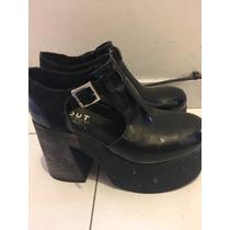 Liquidación De Zapatos Botas Rock Tachas Forever 21