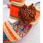 Sandalias Mujer Zapatos Taco Chino Verano Importadas Flores