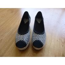 Zapatos Con Plataforma Abiertos Talle 36 Nuevos