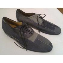 Zapatos De Tango Forrados En Cuero - Artesanales.