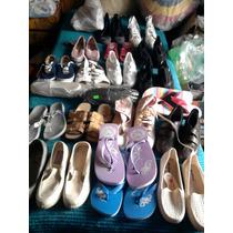 Lote Calzado Femenino Mujer: Zapatillas,sandalias,alpargatas
