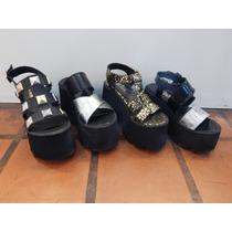 Sandalias,sami.plataforma.madera Verano 2016 Amme Shoes