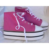 Zapato Zapatilla Plataforma Nº 39 Nuevo Clona