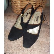 Zapatos Fiesta Noche Gamuza Nº 38. Miralos! Vivimar7