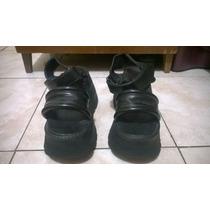 Sandalias Con Plataforma Koturno