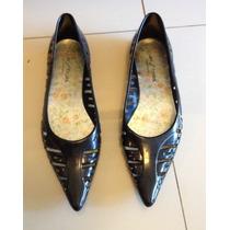 Zapatos Chatitas Ballerinas De Mujer Negro Lluvia Lady Store