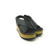 Zapatos Cuero Mujer Plataforma Verano Magali Shoes