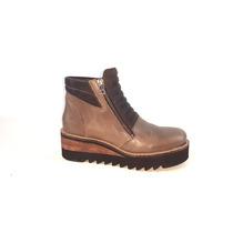 Botitas Botas Botinetas Mujer Cuero Magali Shoes