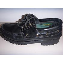 Zapatos Leñadores Nro. 40 Color Negro. Excelente Estado.