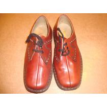 Par De Zapato Antiguo Sin Uso Nro 31/32 Marrón Grimoldi