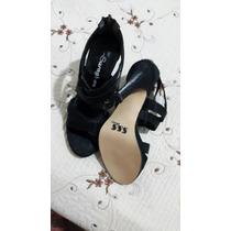 Zapato De Taco De Vestir