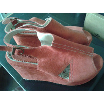 Zapatos De Plataforma Rojos