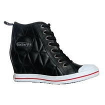 Bota Taco Escondido Casual Cuero Panther (14550)