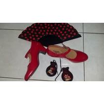 Zapatos Flamenco Rojos N° 37 La Plata