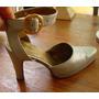 Zapatos Color Plata Opaca Ideal Tango Talle 36 Luis Barral