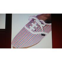 Alpargata Tipo Zapatillas Con Cordon N°37 Excelente Calidad