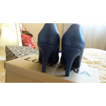 Stilettos Lucerna Azules Excelentes Con Su Caja 38 Azulles