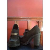 Zapatos De Mujer Kevingston Negro De Cuero