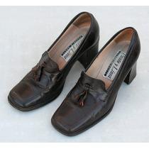 Zapatos Tipo Mocasines Talle 37