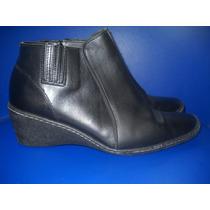 Fadma Zapatos Botas Cortastaco Chino Negras Cuero Vacuno 40