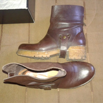 Botas Prune Sarkany Paruolo.. Impecables