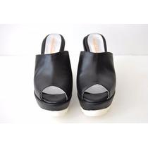 Taco Chino Forrado Cuero Zapato
