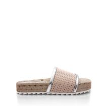 Sandalia De Cuero Blaque Para Mujer Calzado Fayun