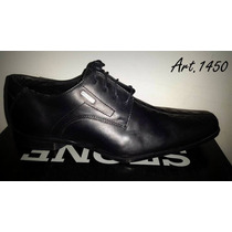Zapato De Vestir Stone 100% Cuero