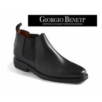 Bota Clásica De Cuero - Giorgio Beneti Talle 43