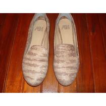 Zapatos Mocasin De Cuero Mujer Ash Nº 38 (iguales A Nuevos)